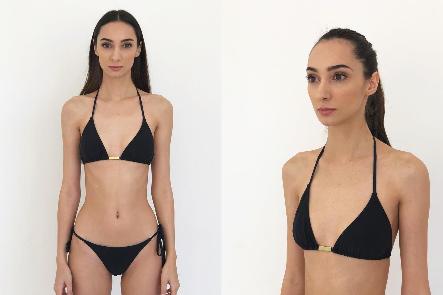 Fotos polaroids, modelo Carol Lagamba (eu)