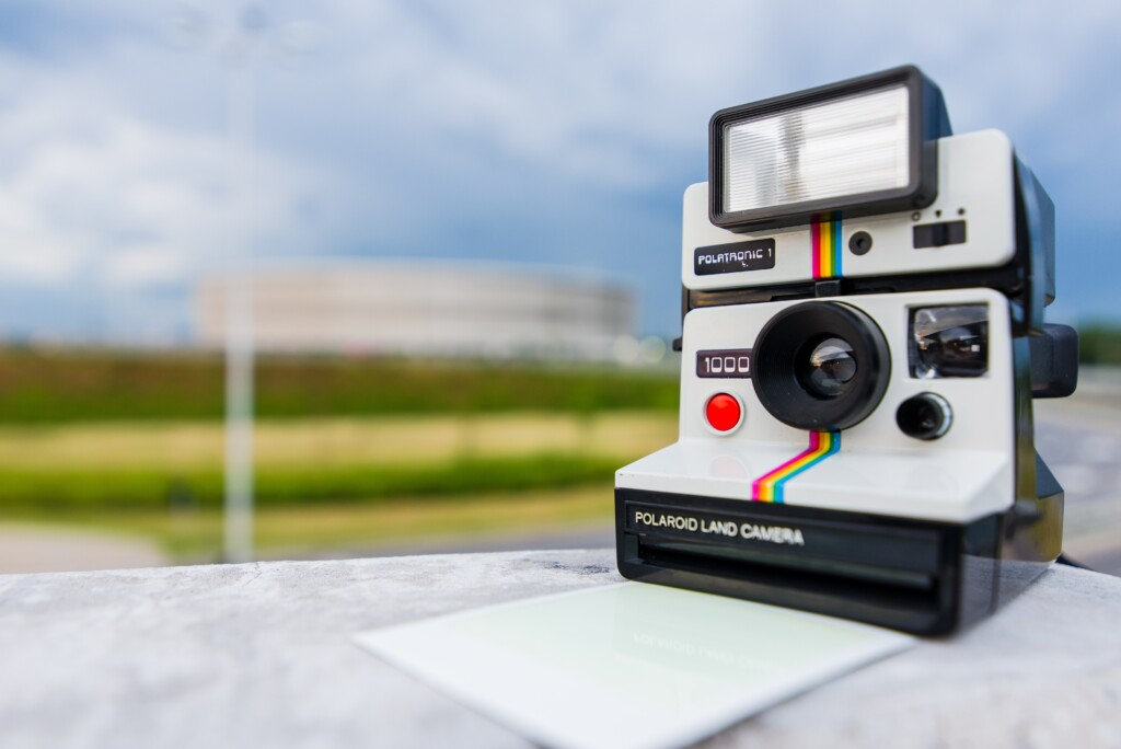 o que é foto polaroid